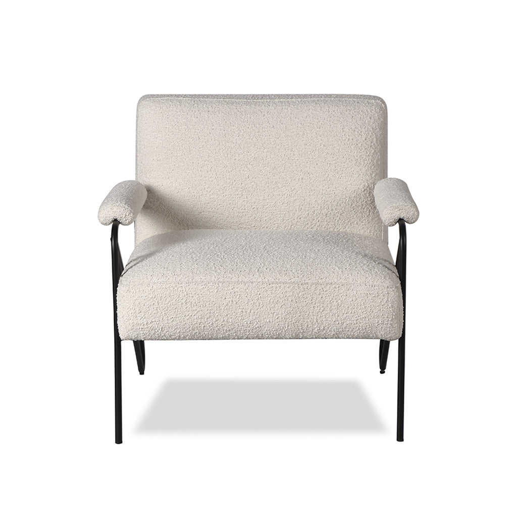 Liang & Eimil Kemper Occasional Chair in Boucle Sand