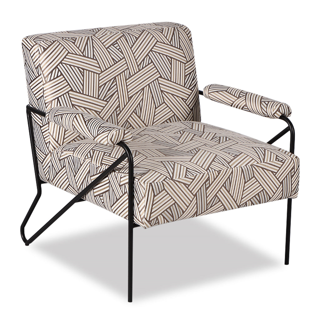 Liang & Eimil Kemper Occasional Chair in Geo Beige