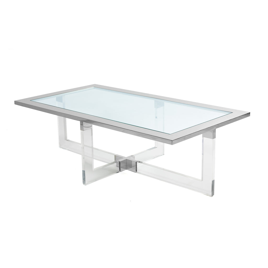Liang & Eimil Kensington Coffee Table in Stainless Steel
