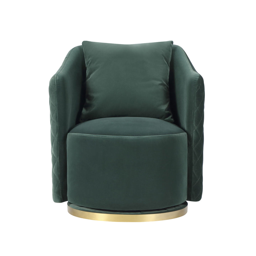 Liang & Eimil Kubrick Chair in Gainsborough Emerald Green Velvet