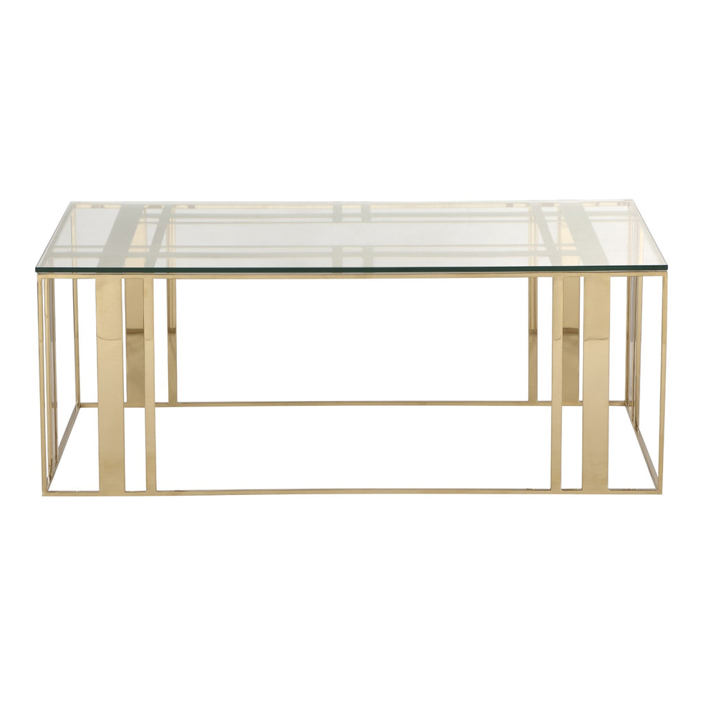 Liang & Eimil Lafayette Coffee Table in Polished Brass