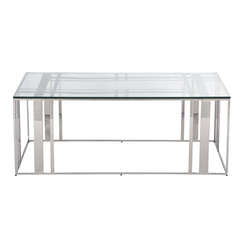 Liang & Eimil Lafayette Coffee Table in Stainless Steel
