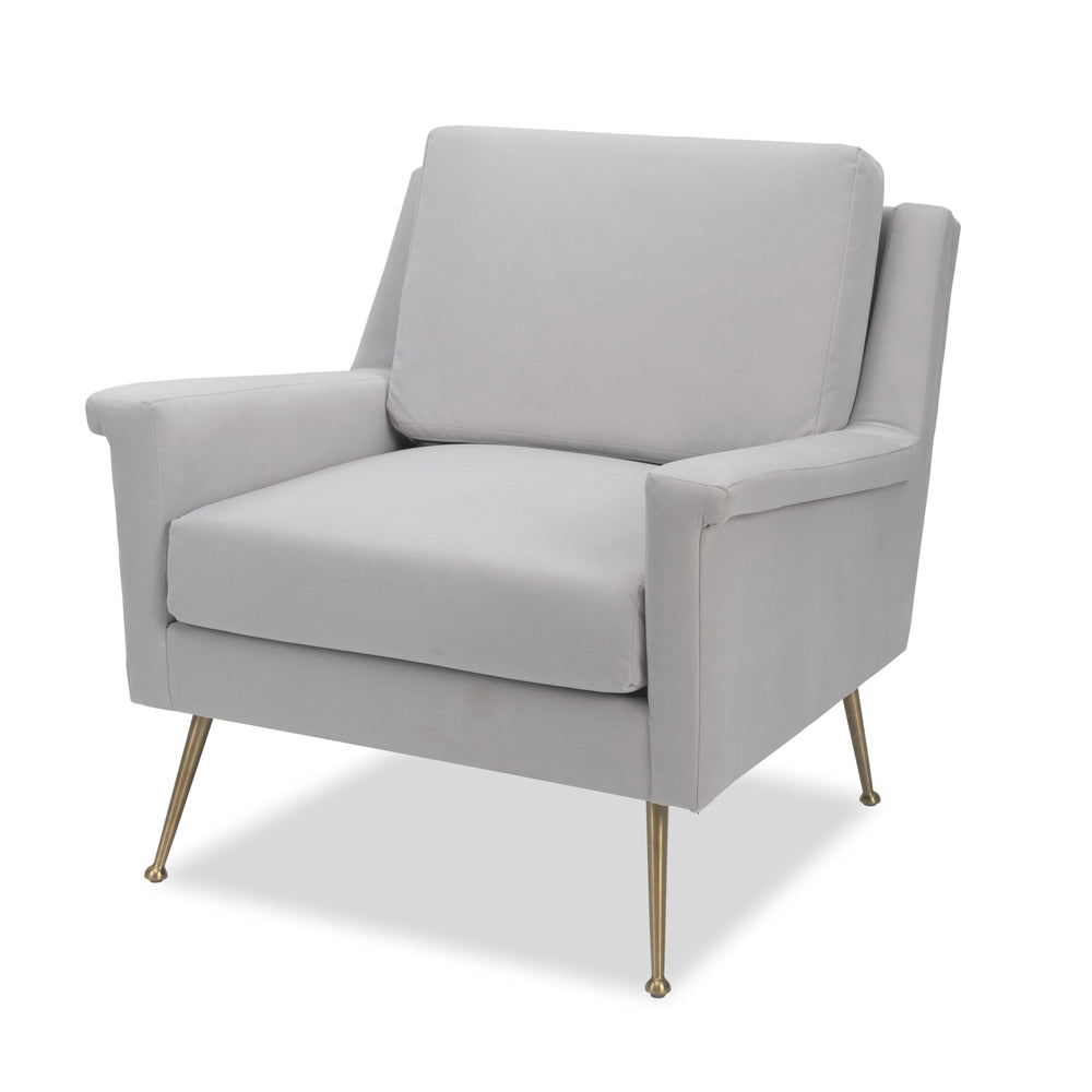 Liang & Eimil Lidmar Occasional Chair with Toscana Misty Velvet