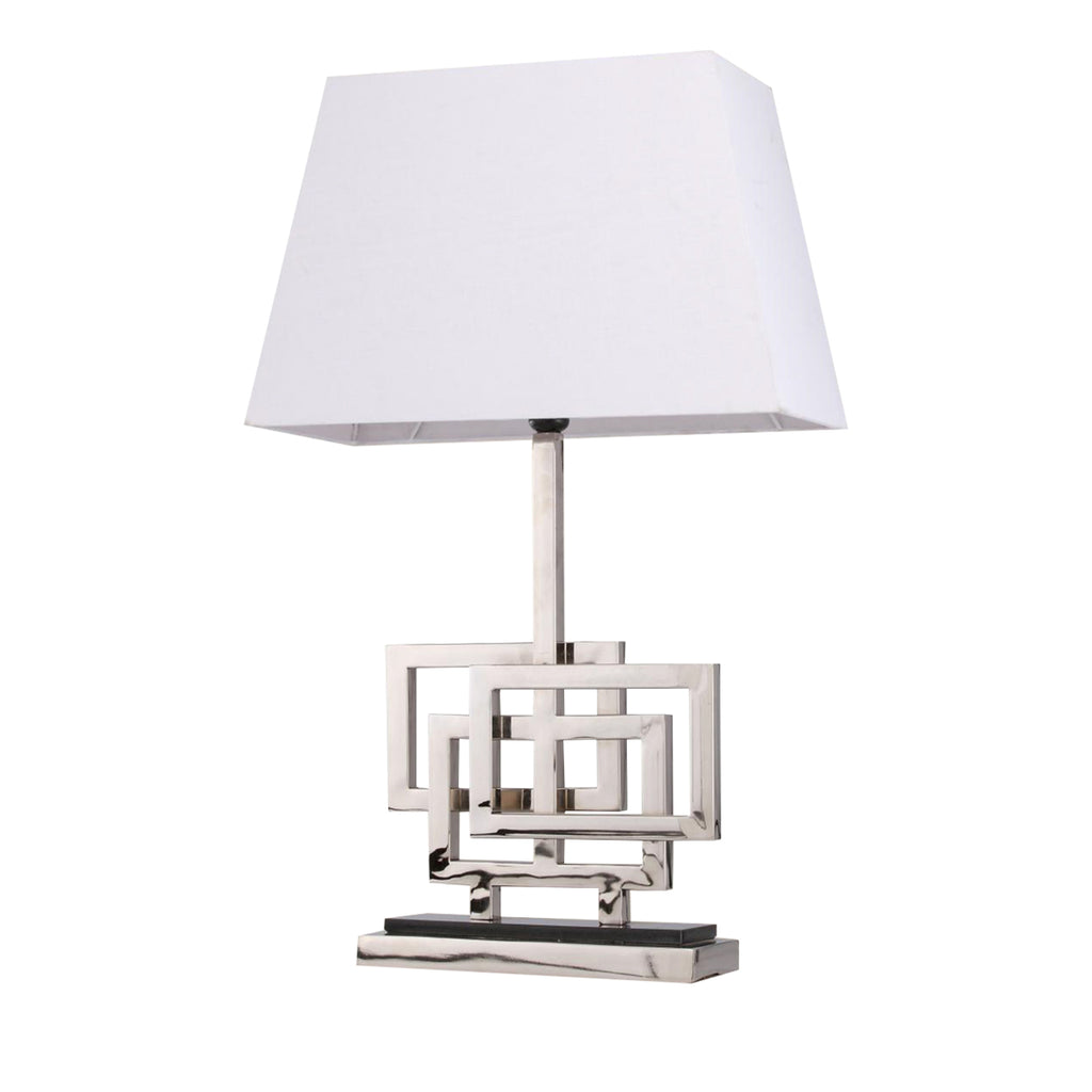 Liang & Eimil Luxor Table Lamp in Silver