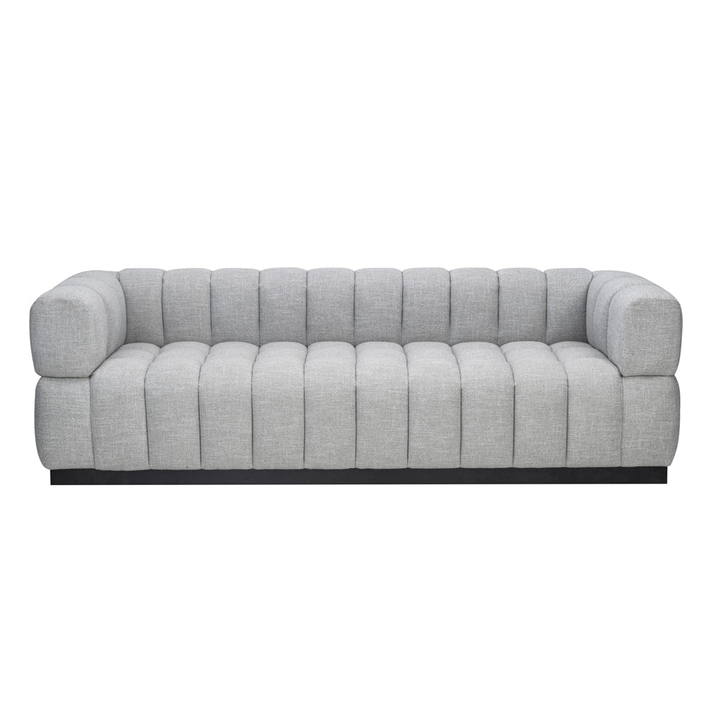 Liang & Eimil Marat Sofa with Oscar Light Grey Velvet