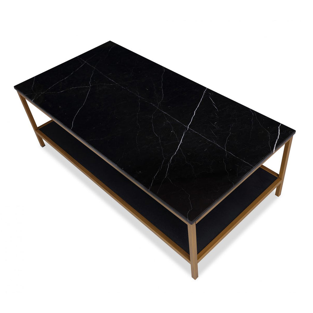 Liang & Eimil Max Coffee Table in Black and White Marble