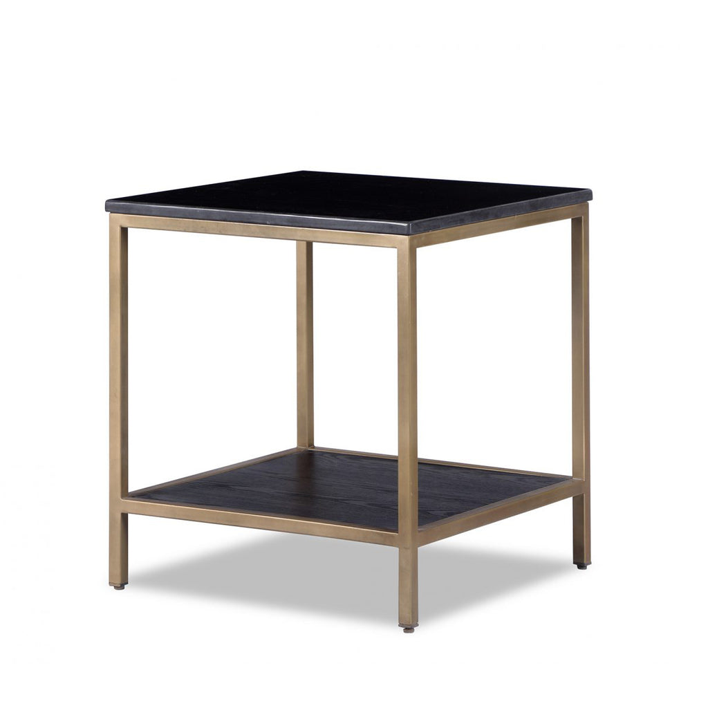 Liang & Eimil Max Side Table in Black Marble