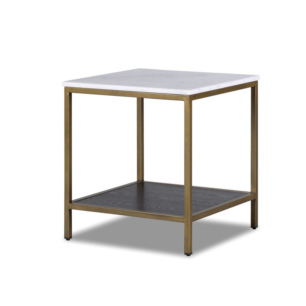 Liang & Eimil Max Side Table in White Marble
