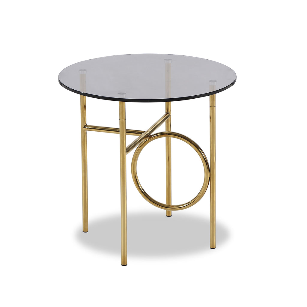 Liang & Eimil Memoire Side Table in Polished Brass