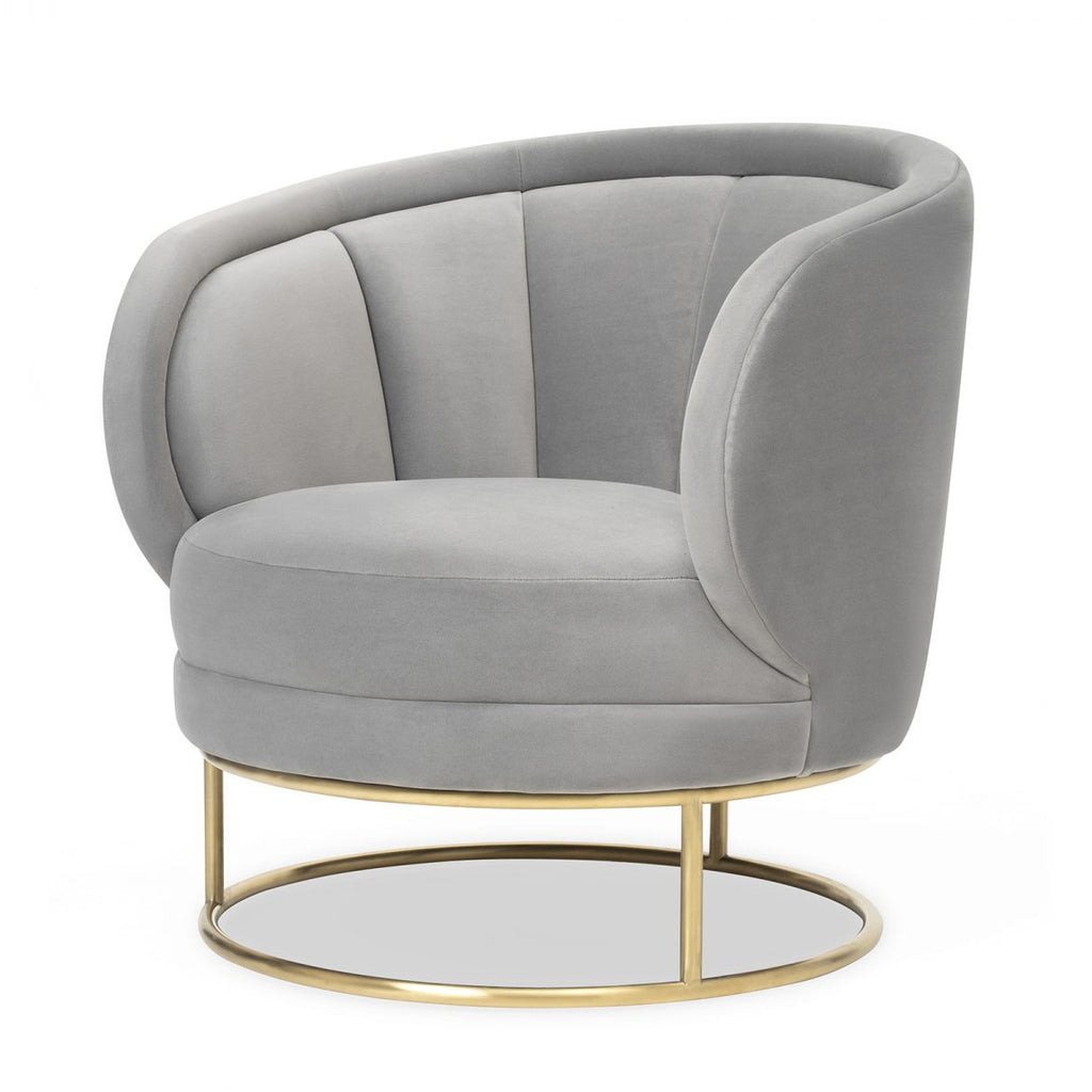 Liang & Eimil Mila Chair in Horizon Grey Velvet
