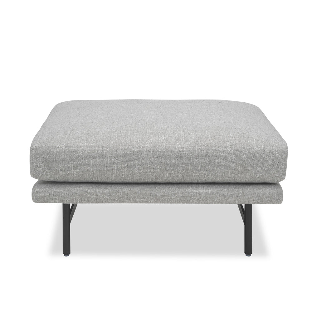 Liang & Eimil Mossi Ottoman with Emporio Grey Fabric