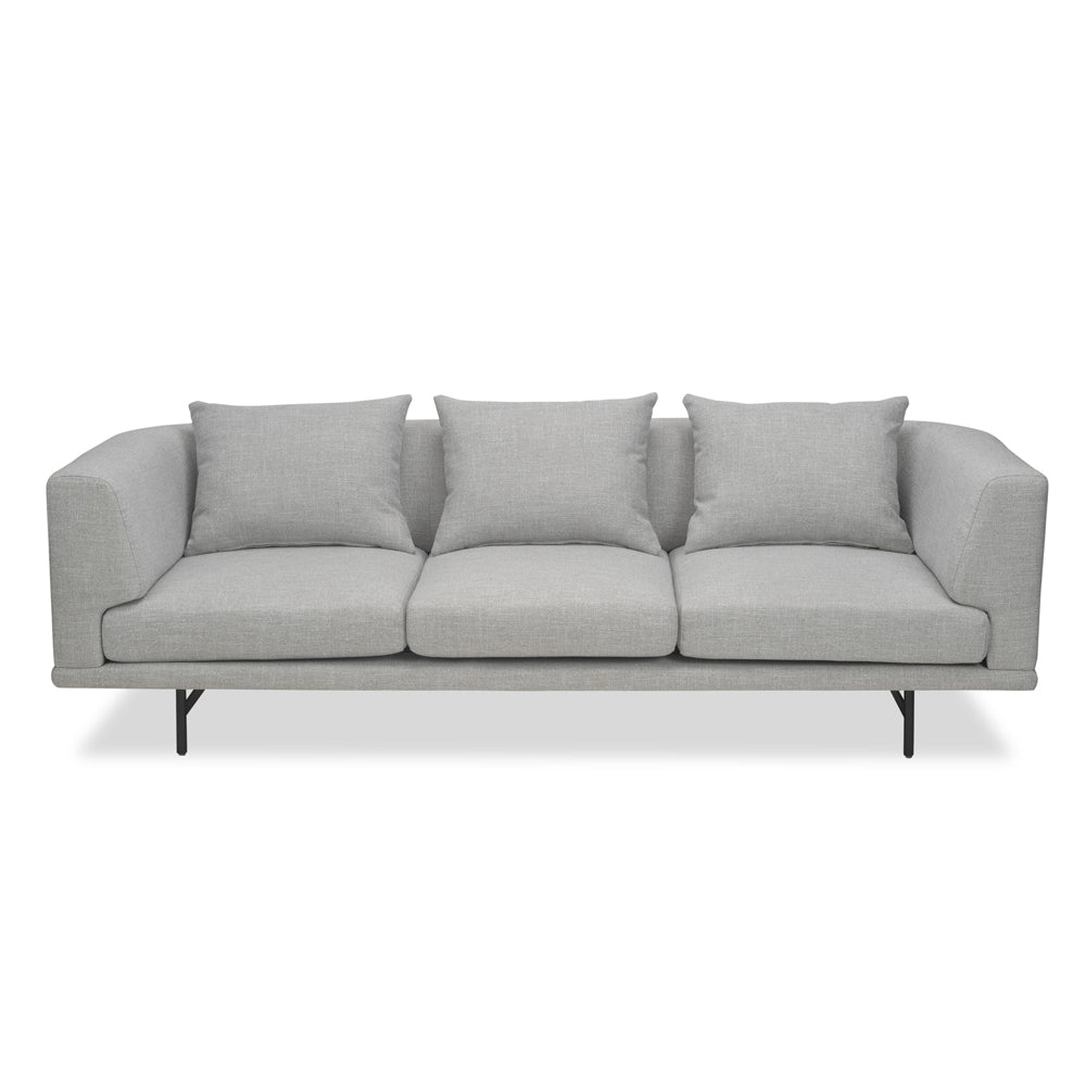 Liang & Eimil Mossi Sofa with Oscar Light Grey Fabric