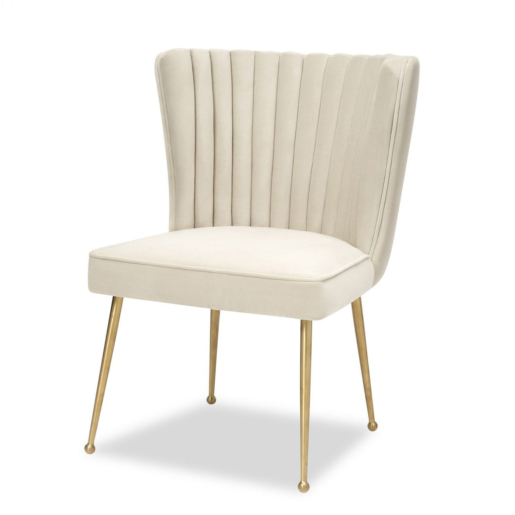 Liang & Eimil Nico Chair in Kaster Pebble Velvet