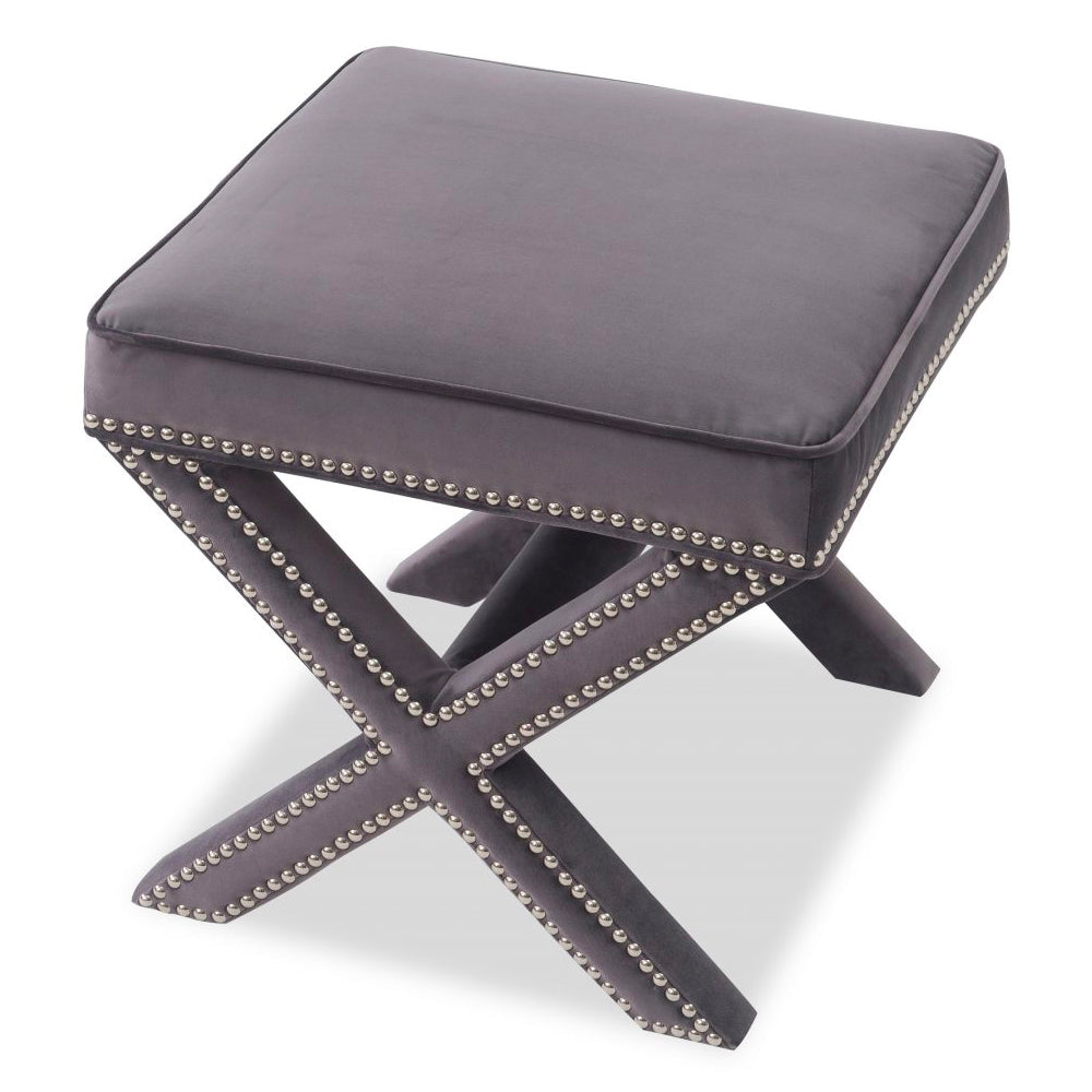 Liang & Eimil Night Grey Alvar Stool