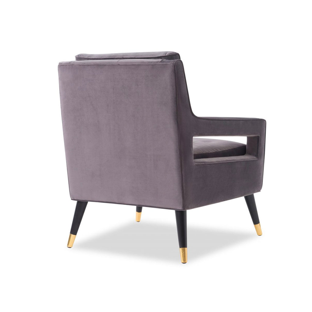 Liang & Eimil Night Grey Edward Occasional Chair