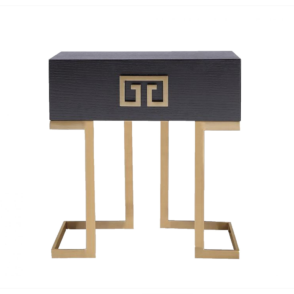 Liang & Eimil Nobbu Gold Bedside Table