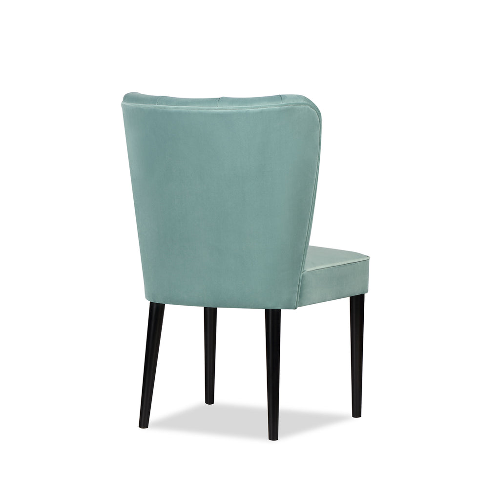 Liang & Eimil Novak Dining Chair with Kaster Veranda Velvet