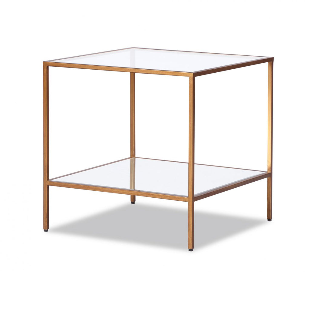 Liang & Eimil Oliver Antiqued Gold Side Table
