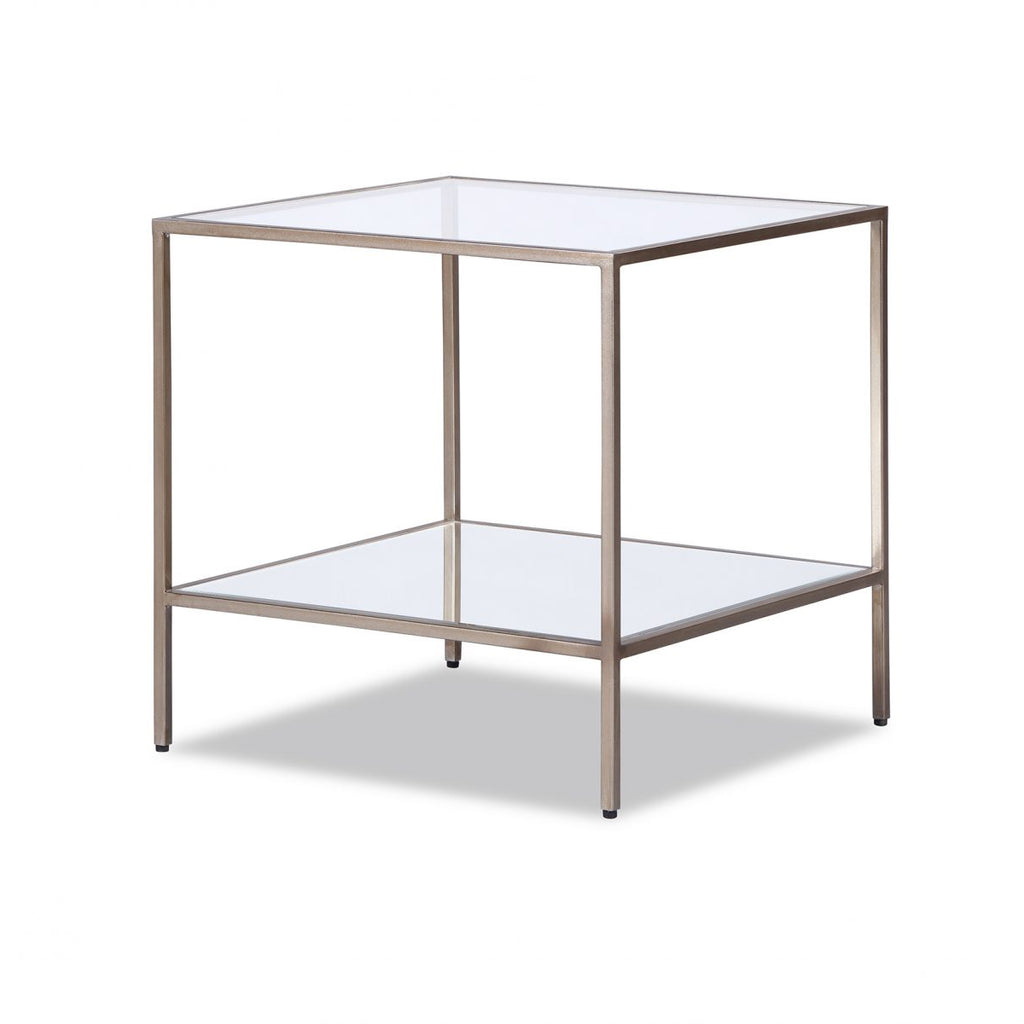Liang & Eimil Oliver Antiqued Silver Side Table