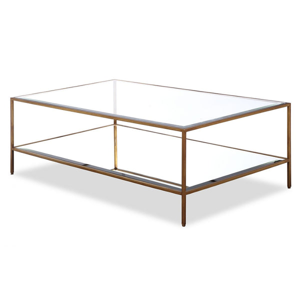 Liang & Eimil Oliver Antiqued Gold Coffee Table