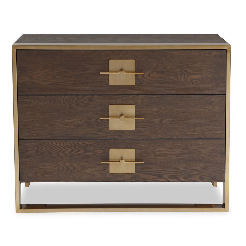 Liang & Eimil Ophir Chest of Drawers with Dark Brown Ash Veneer