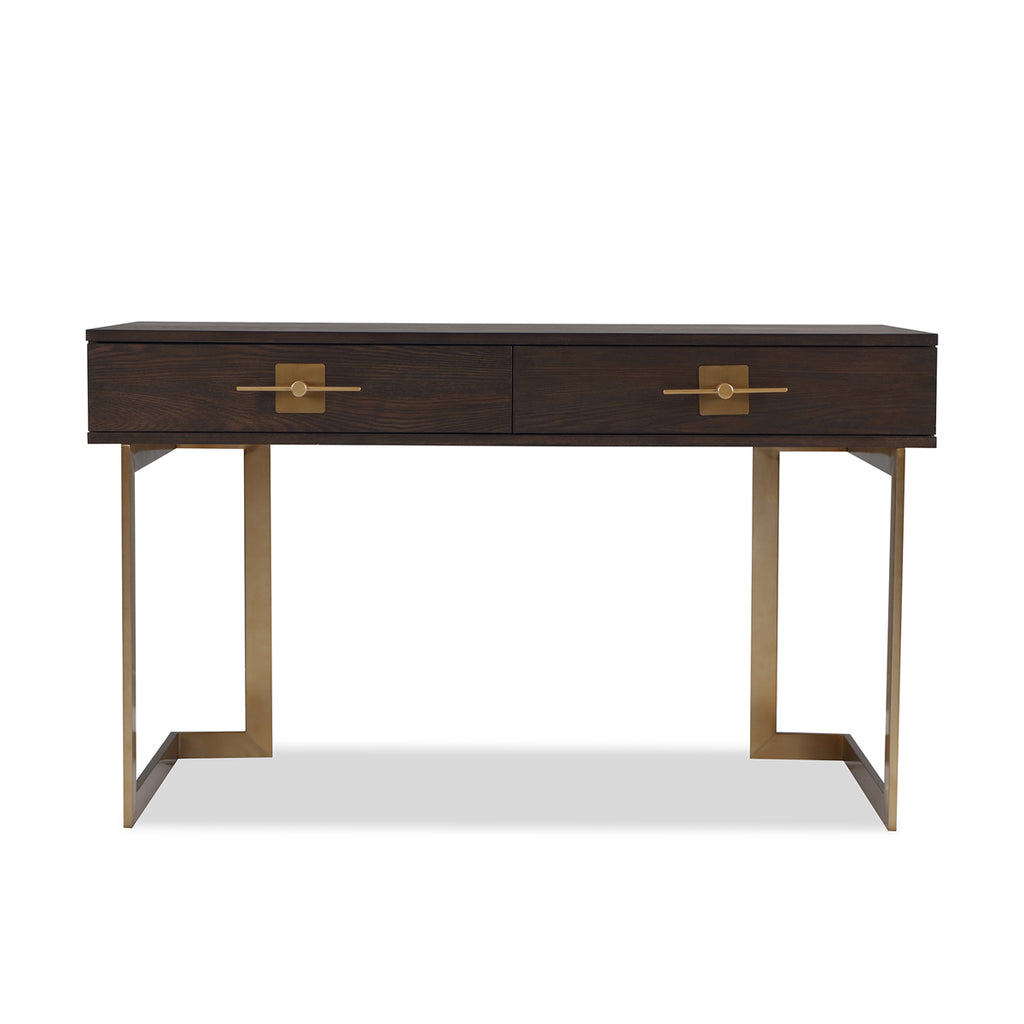 Liang & Eimil Ophir Desk in Dark Brass