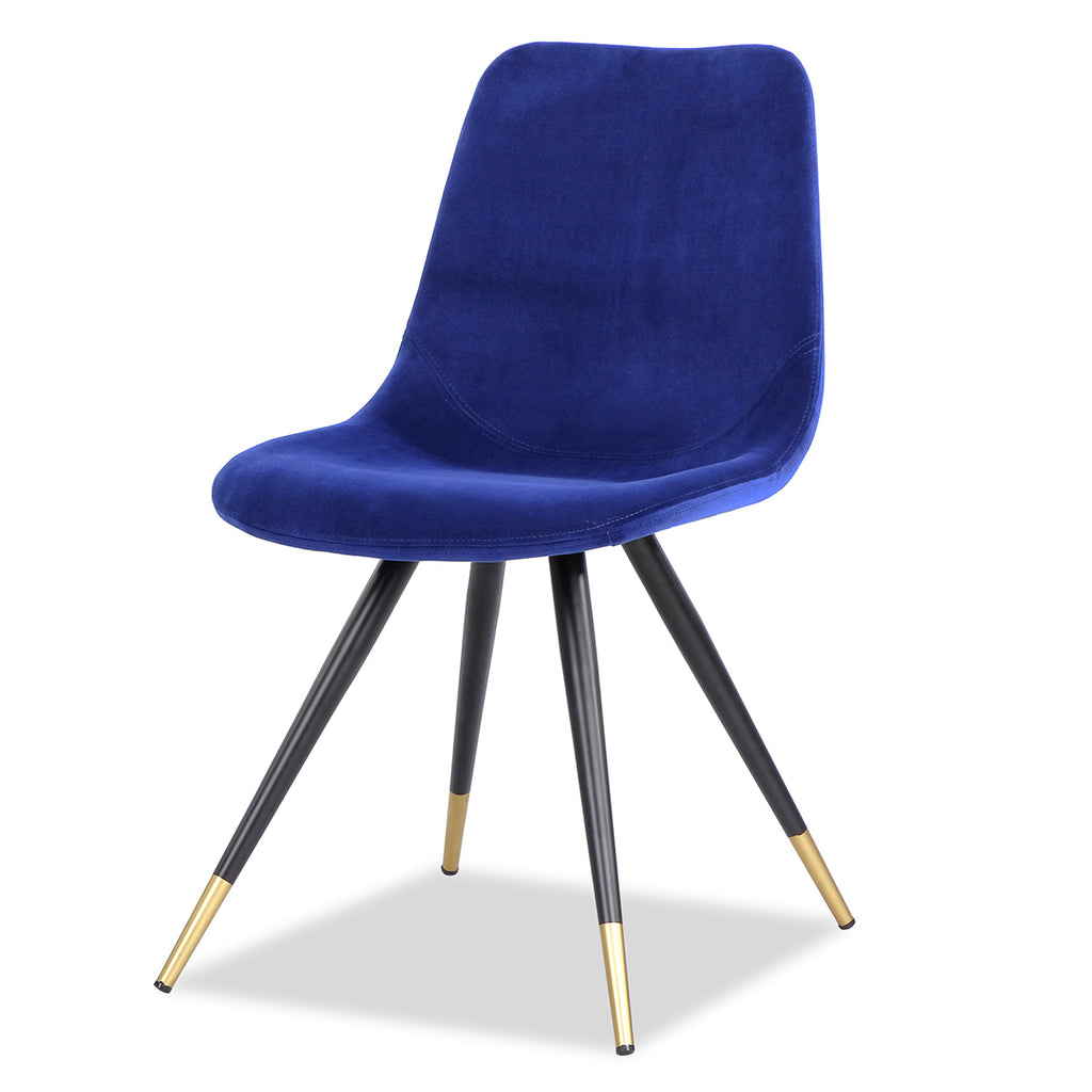 Liang & Eimil Orson Kaster Blue Dining Chair - Pair
