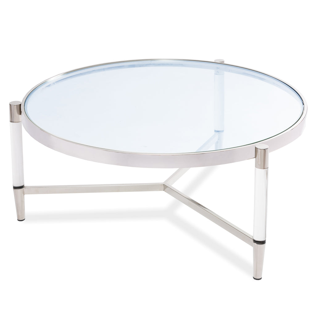 Liang & Eimil Ralph Coffee Table in Stainless Steel