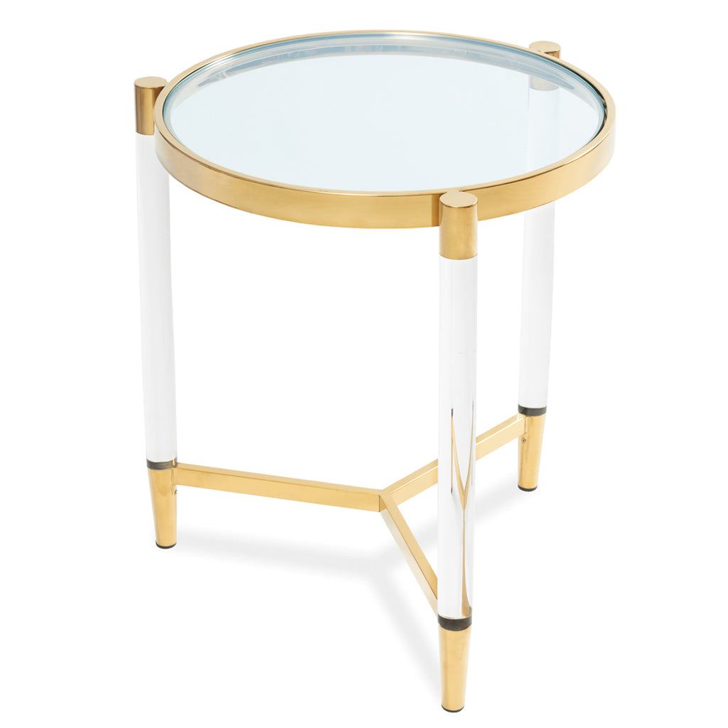 Liang & Eimil Ralph Side Table with Brass