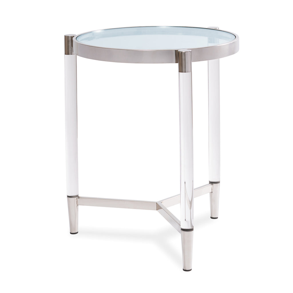 Liang & Eimil Ralph Side Table with Stainless Steel