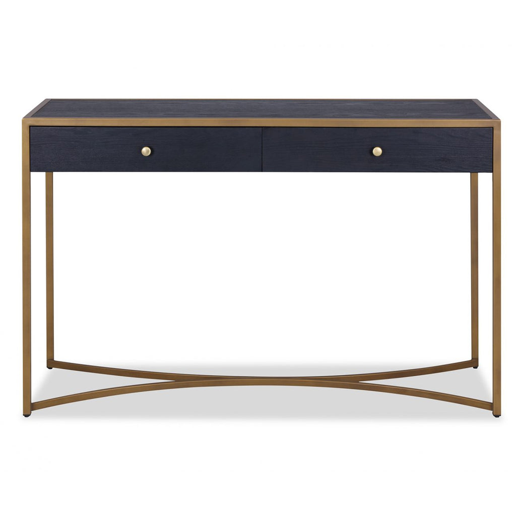 Liang & Eimil Rivoli Dressing Table in Wenge and Brass