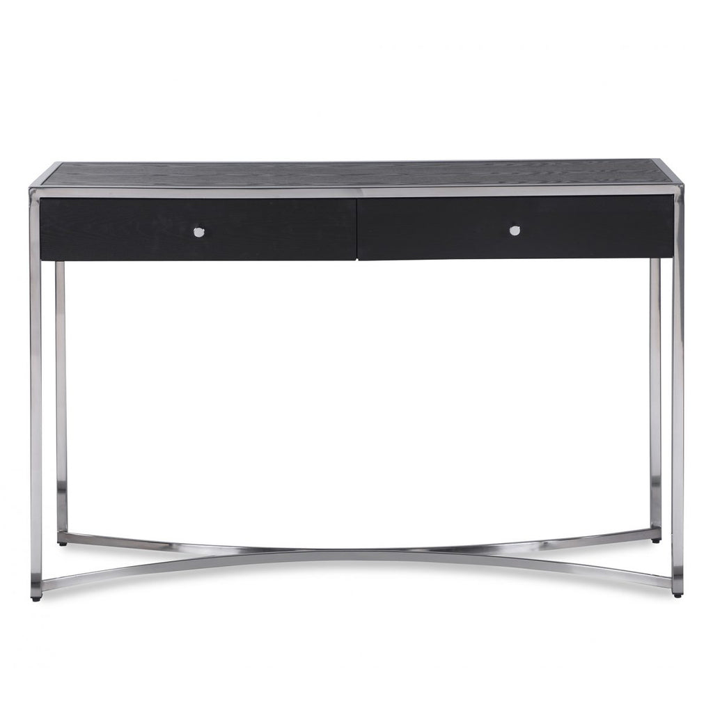 Liang & Eimil Rivoli Dressing Table in Wenge and Stainless Steel