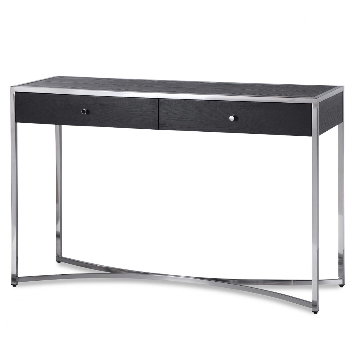 Liang & Eimil Rivoli Dressing Table in Wenge and Stainless ...