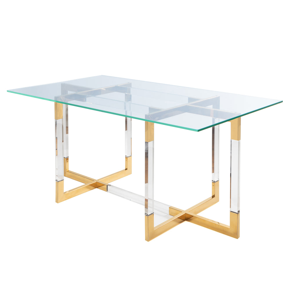 Liang & Eimil Rothko Dining Table in Brass