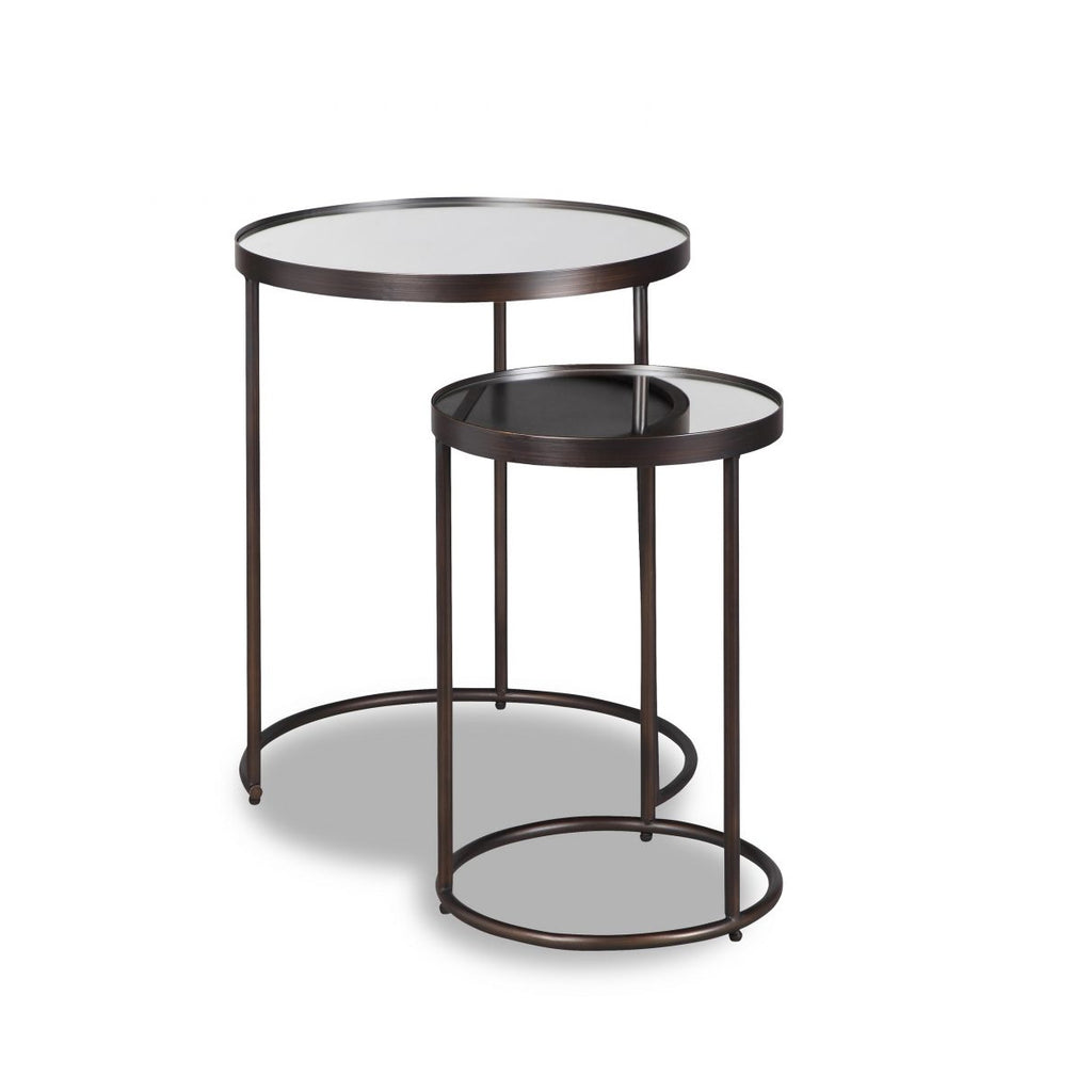 Liang & Eimil Song Side Table in Antique Bronze