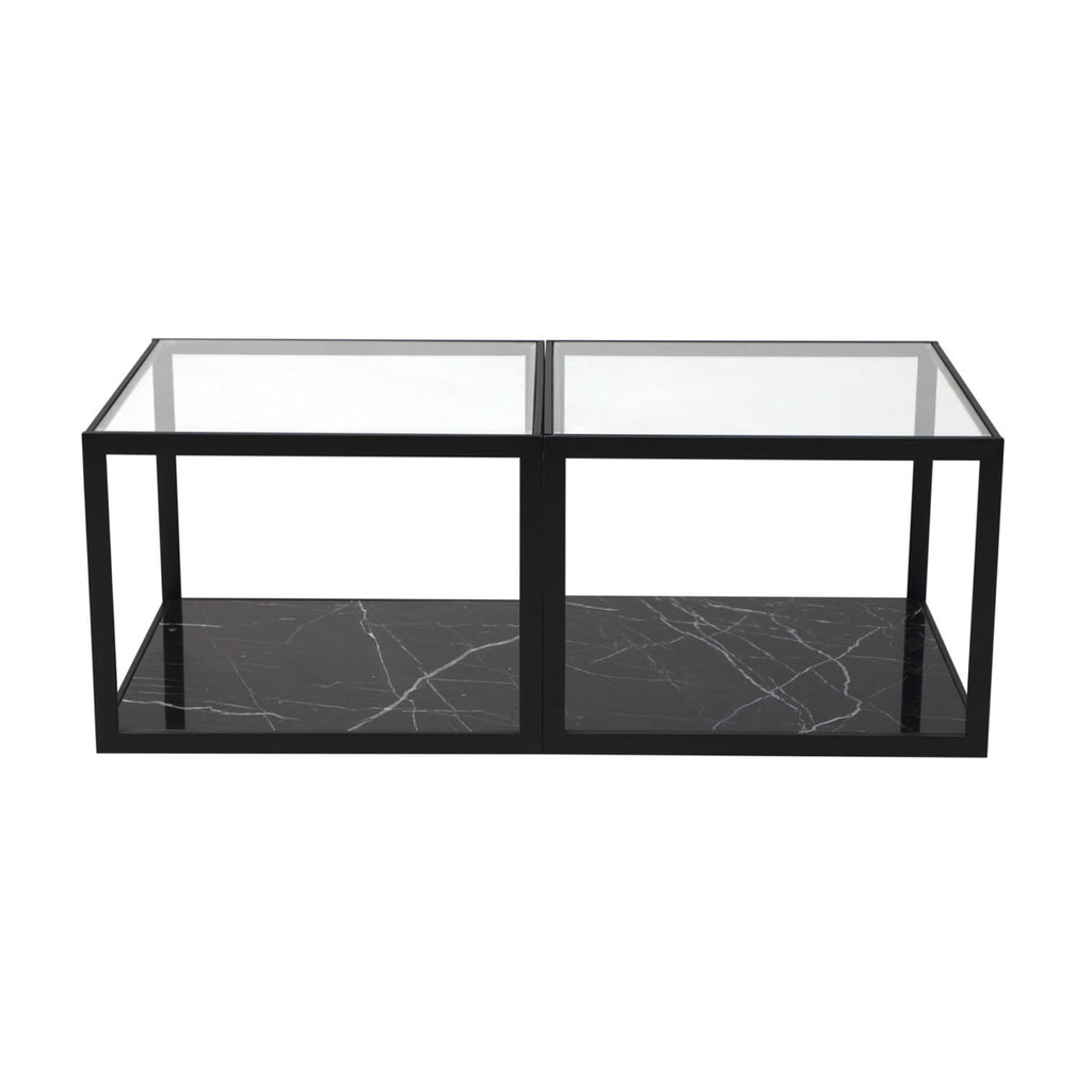 Liang & Eimil Tamon Coffee Table with Black Marble (set of two)