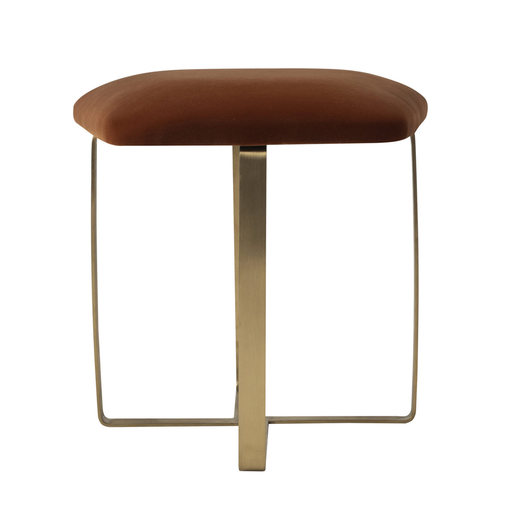 Liang & Eimil Tatel Stool Gainsborough Amber Velvet