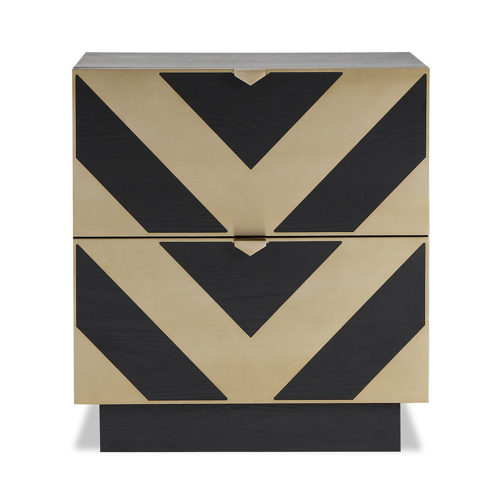 Liang & Eimil Unma Bedside Table in Brass