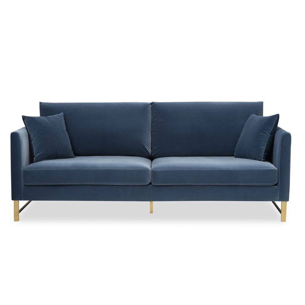 Liang & Eimil Vero Sofa in Gainsborough Cobalt Blue Velvet