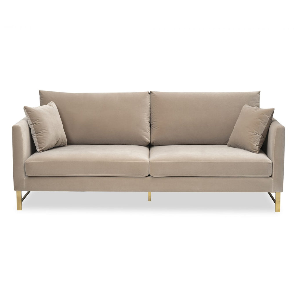 Liang & Eimil Vero Sofa in Gainsborough Mink Velvet