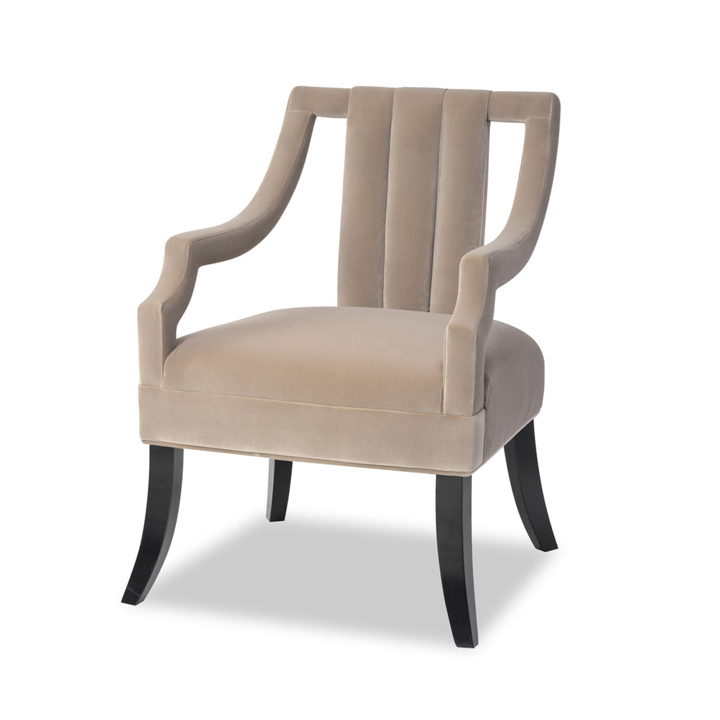 Liang & Eimil Wallace Chair in Gainsborough Mink Velvet