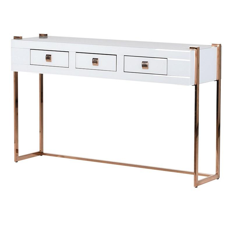 Loren Mirror Console Table
