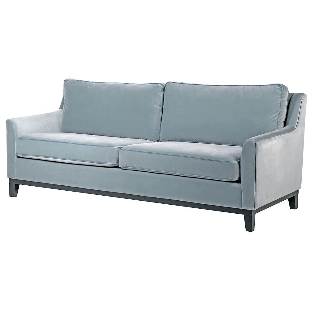 Lovely Duckling Duck Egg Blue Three-Seater Sofa