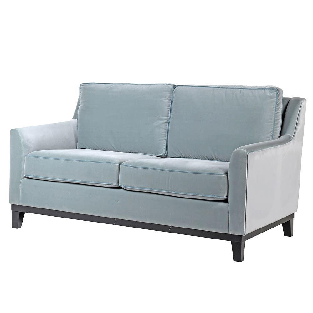 Lovely Duckling Duck Egg Blue Two-Seater Sofa
