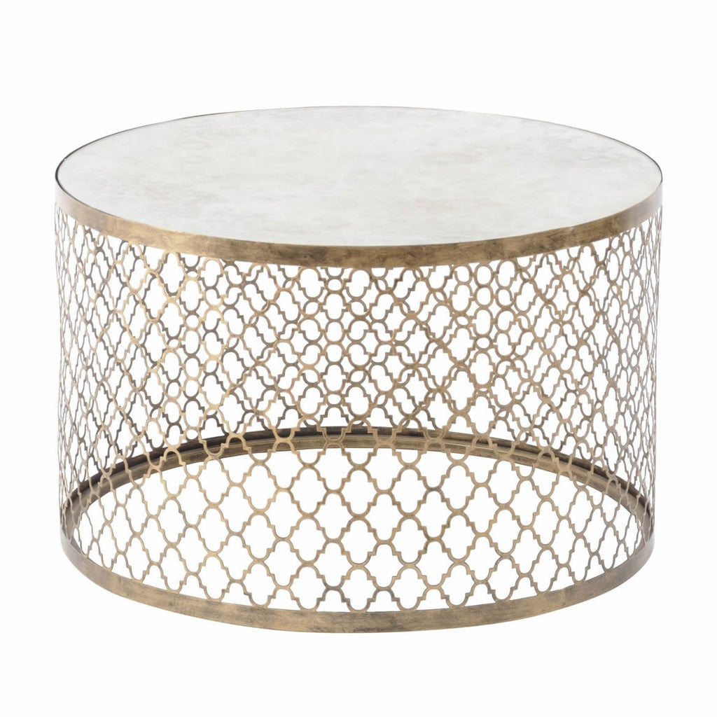 Marrakech Round Mirrored Coffee Table