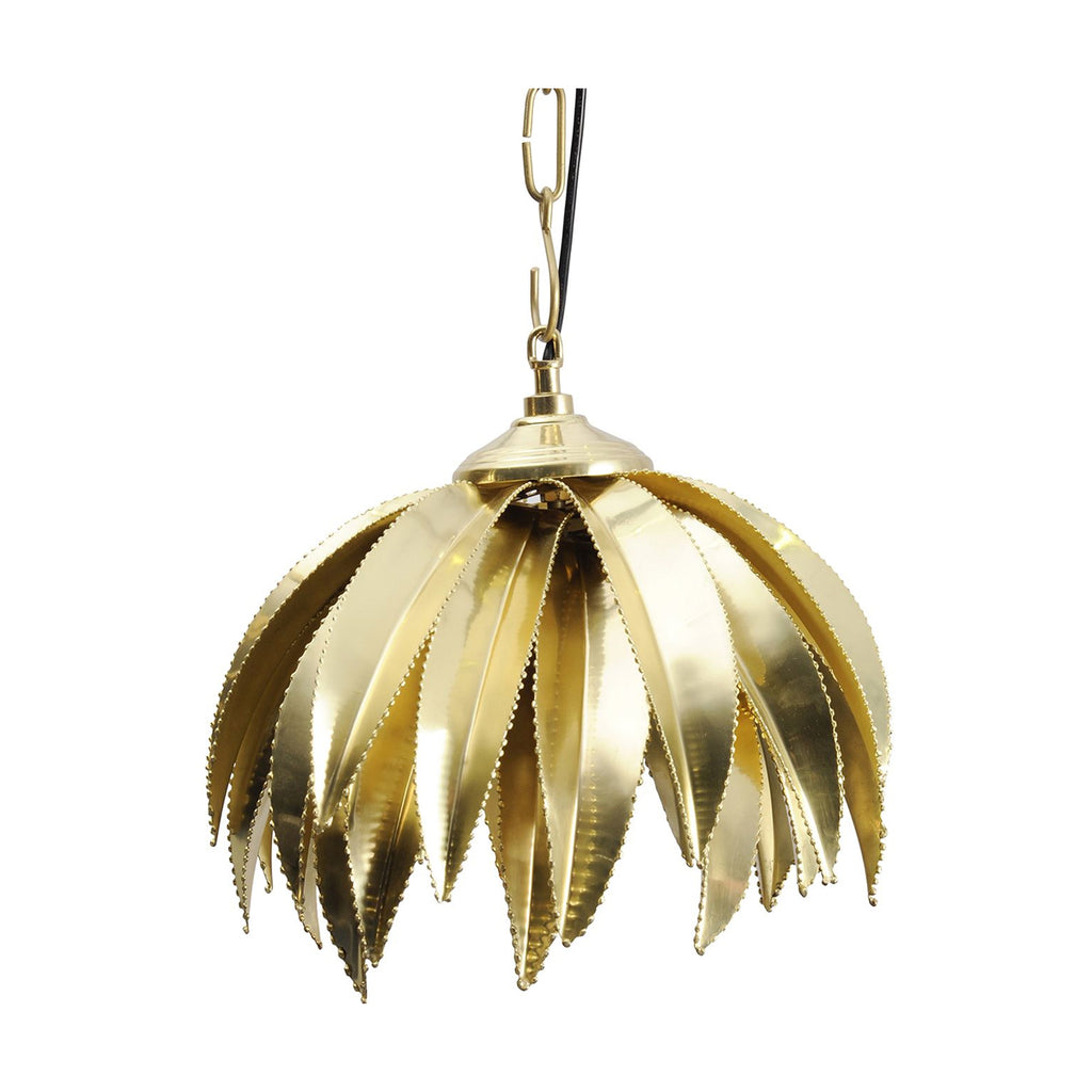 Maui Gold Palm Pendant Light