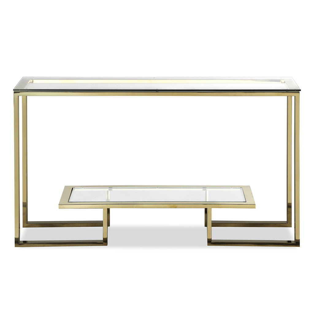 Mayfair Console Table in Gold