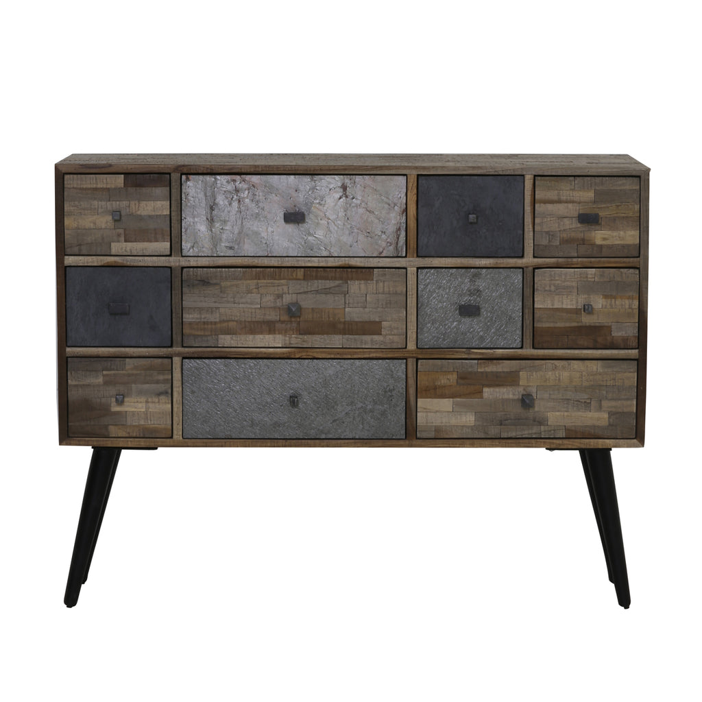 Merido Cabinet in Mixed Wood