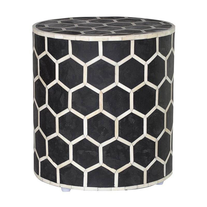 Nectar Bone Inlay Stool