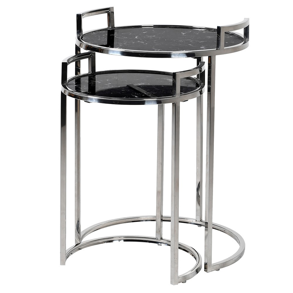 Opusella Tables with Marble Tops